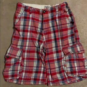 Osh Kosh B' Gosh Plaid Cargo Shorts
